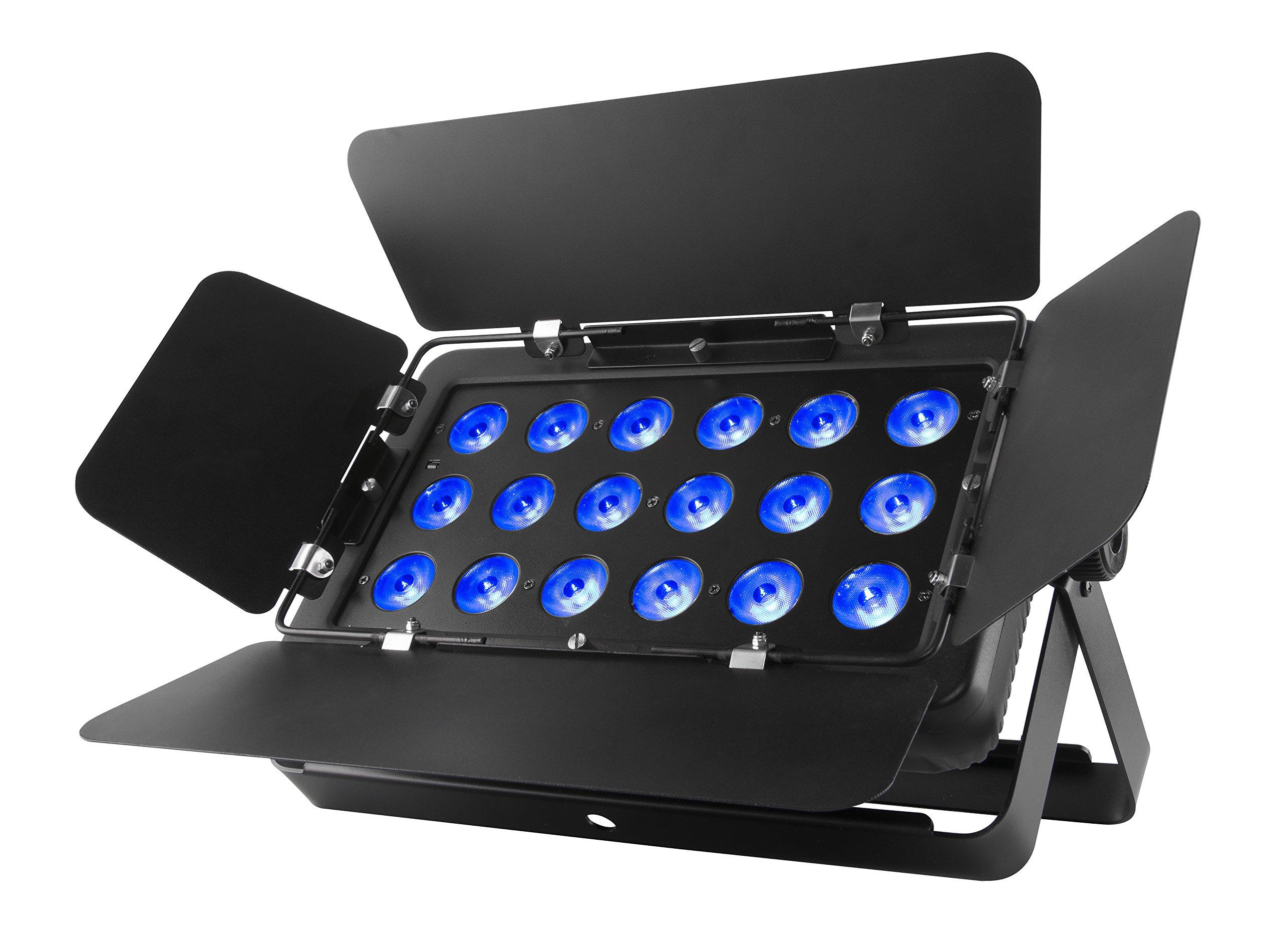 CHAUVET DJ SLIMBANKT18USB Tri-Color LED Wash/Effect Light w/Adjustable Barn Doors | LED Lighting