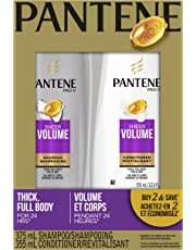 Pantene Pro-V Sheer Volume Shampoo and Conditioner Dual Pack, 730 mL