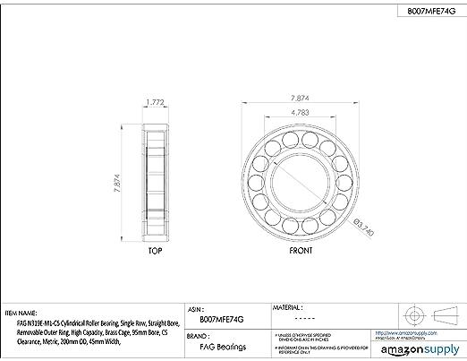 NJ2305EM1C3 FAG New Cylindrical Roller Bearing
