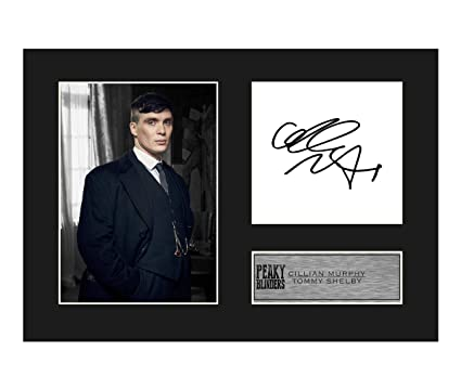 Peaky Blinders Cillian Murphy signed Mounted Photo Display Tommy Shelby