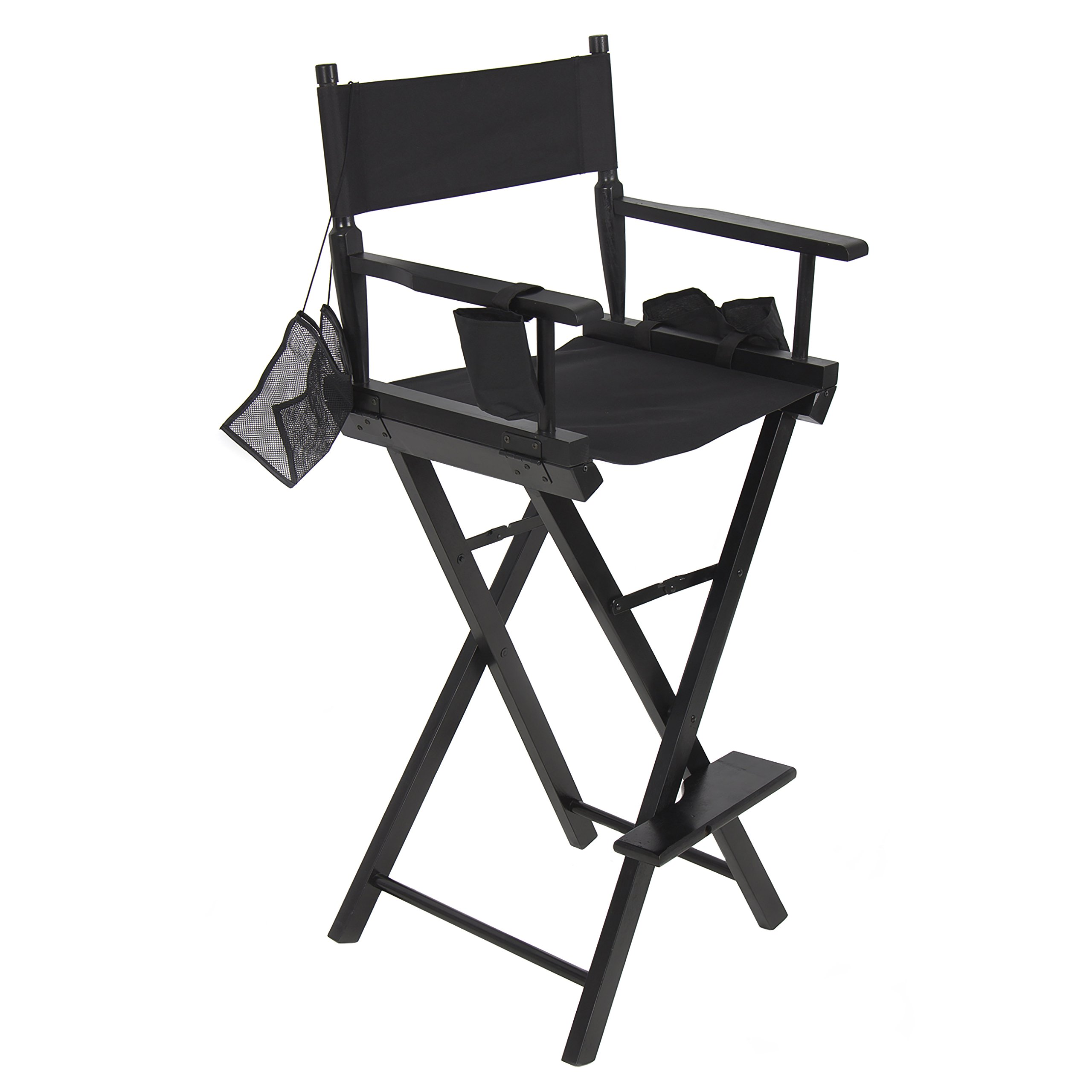 Professional Makeup Artist Directors Chair Light Weight Foldable New by Best Choice Products