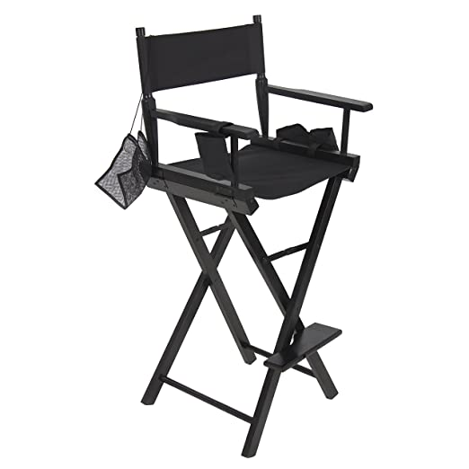 Amazon.com: Professional Makeup Artist Directors Chair Light Weight  Foldable New: Home U0026 Kitchen
