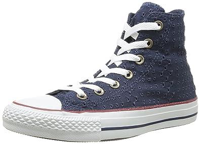 outlet store 92af2 60f9b Converse Chuck Taylor All Star Eyelet Cut Unisex-Erwachsene Kurzschaft  Stiefel