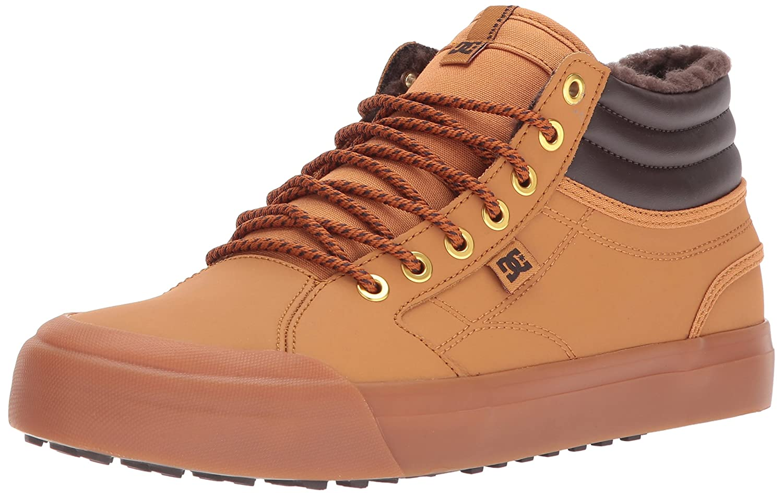 DC Men's Evan Smith HI Wnt Skate Shoe B01MSZ9NRU 8.5 D(M) US|Wheat