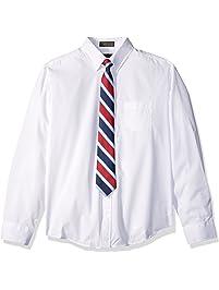 Dockers Boys Shirt Tie Set Dress Shirt