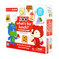Skip Hop What's for Lunch? Toddler Memory & Matching Game