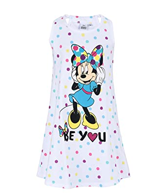 magasin en ligne 975f6 1f424 Disney Minnie Fille Chemise de nuit - blanc