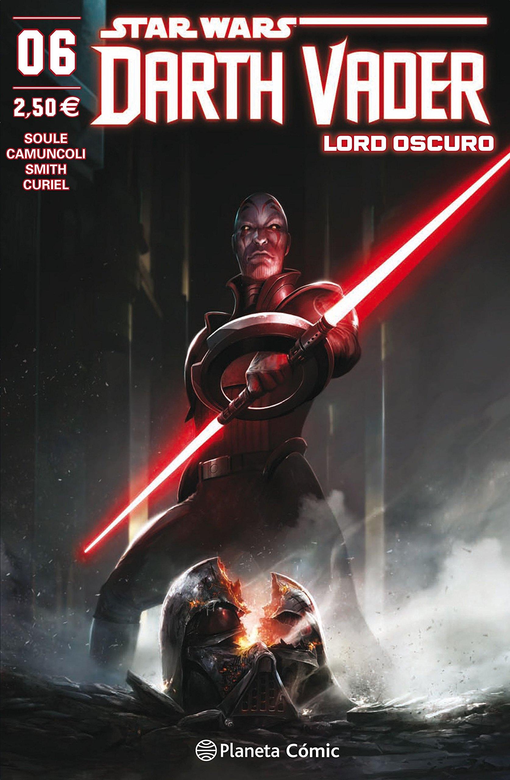 Star Wars Darth Vader Lord Oscuro nº 06 (Star Wars: Cómics Grapa Marvel) Tapa blanda – 2 oct 2018 Charles Soule Giuseppe Camuncoli Planeta DeAgostini Cómics 8491469060