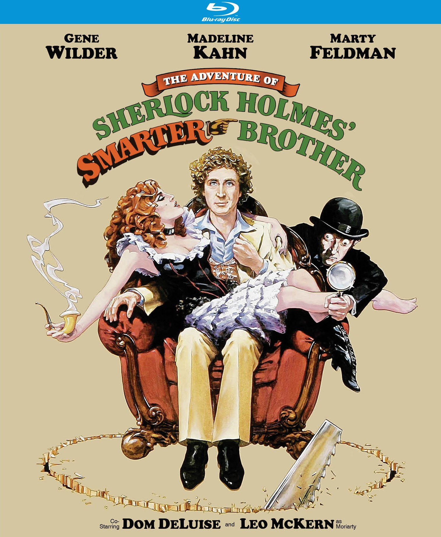 Blu-ray : The Adventure of Sherlock Holmes' Smarter Brother (Blu-ray)