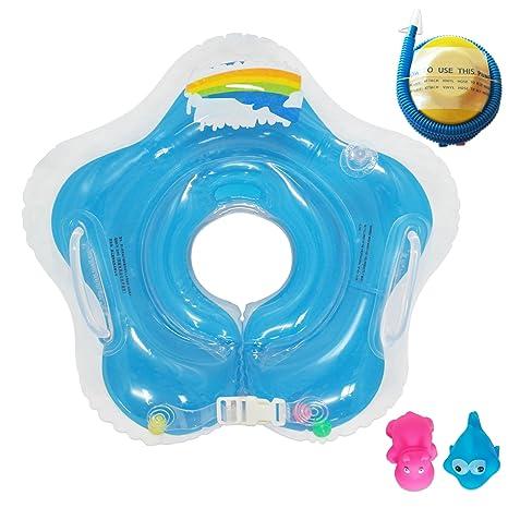 Raintwo Bebé Flotador de Cuello Niños Flotadores Dispositivos para ...
