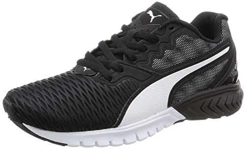 Puma Women's Ignite Dual WN's Competition Running Shoes, Black Black White  02, ...