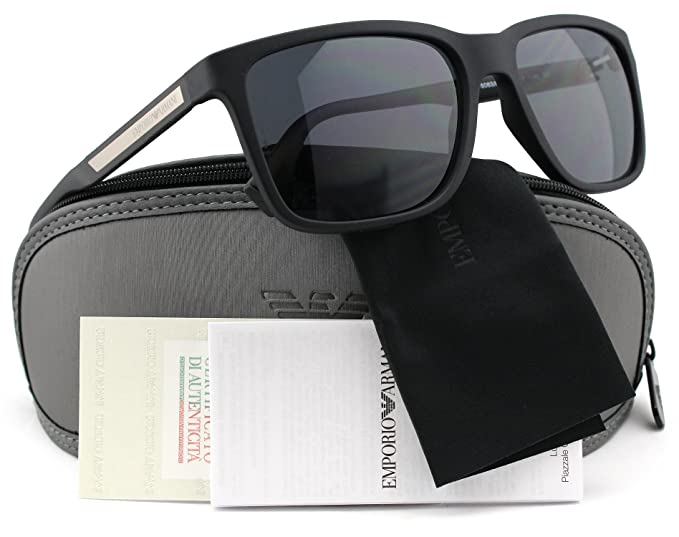 24315ab74b Image Unavailable. Image not available for. Colour  Emporio Armani EA4047  Polarized Sunglasses ...