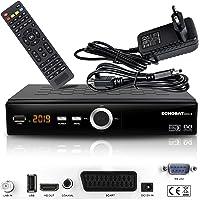 hd-line Echosat 20900 Digital Satelliten Sat Receiver - (HDTV, DVB-S/S2, HDMI, SCART, 2X USB 2.0, Full HD 1080p) [Vorprogrammiert für Astra Hotbird Türksat]