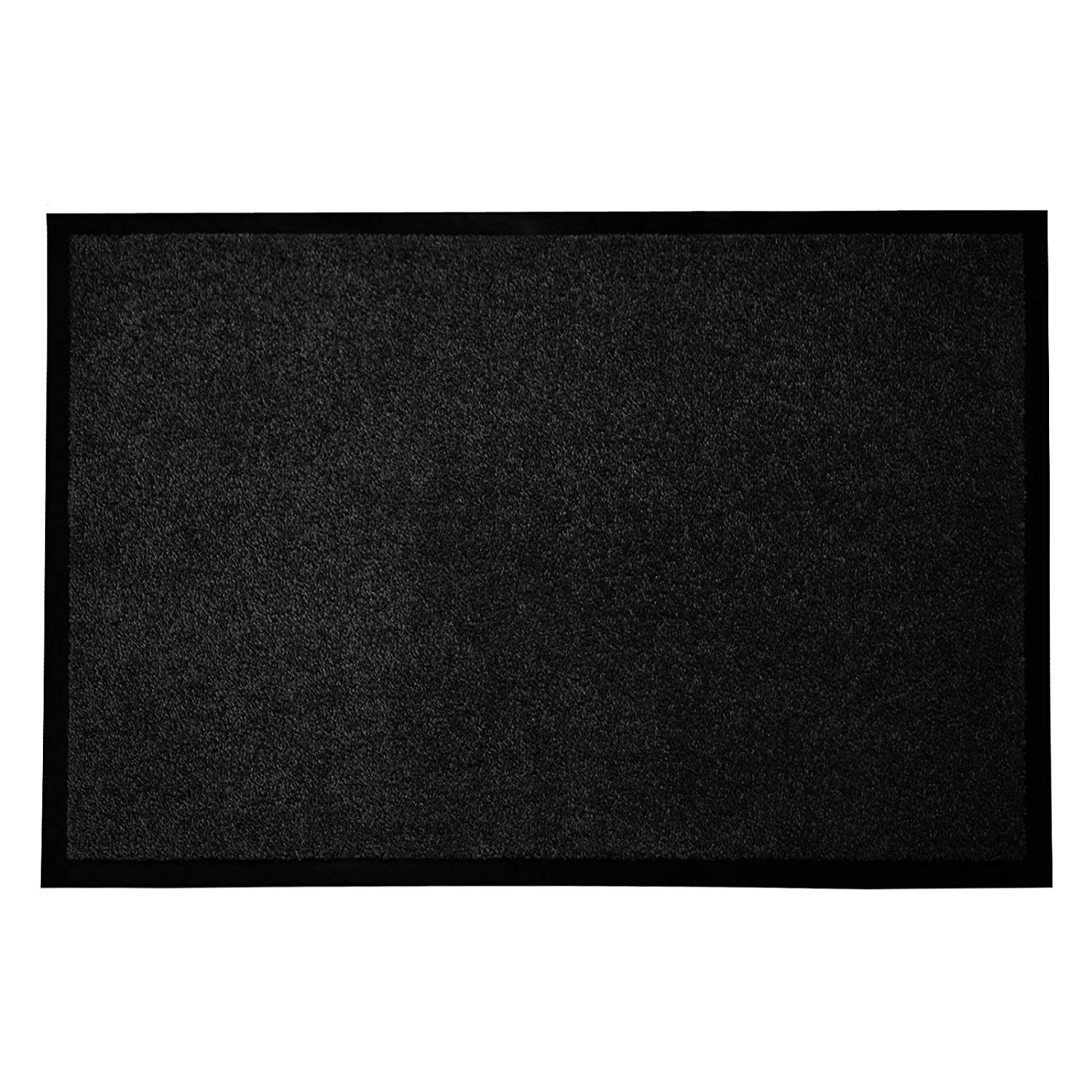 casa pura Entrance Mat | Europe's # 1 Front Door Mat for Home and Business | Black - 36'' x 48''