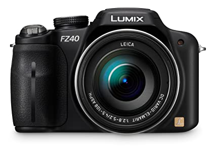 cfbedc12c4 Panasonic Lumix DMC-FZ40 14.1 MP Digital Camera with 24x Optical Image  Stabilized Zoom and