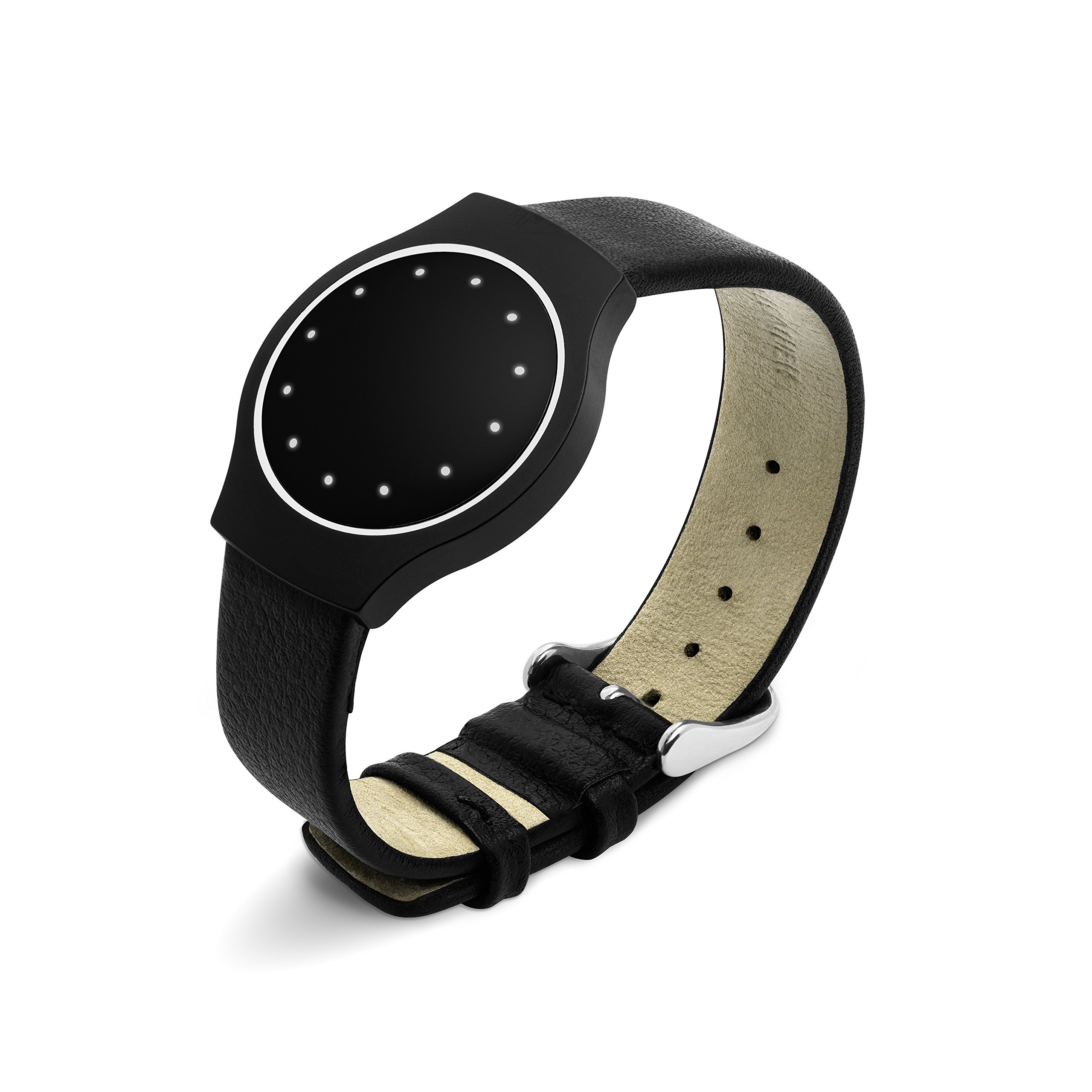 Misfit Pebbled Leather Band
