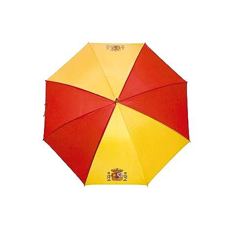 Paraguas Grande DE LA Bandera ESPAÑOLA-(Lote DE 5 Unidades)-GRANDE-