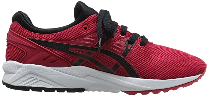 buy online 5bcfe b6195 ASICS Gel Kayano Trainer EVO Retro Running Shoe Red   Black 9 M US  Buy  Online at Low Prices in India - Amazon.in