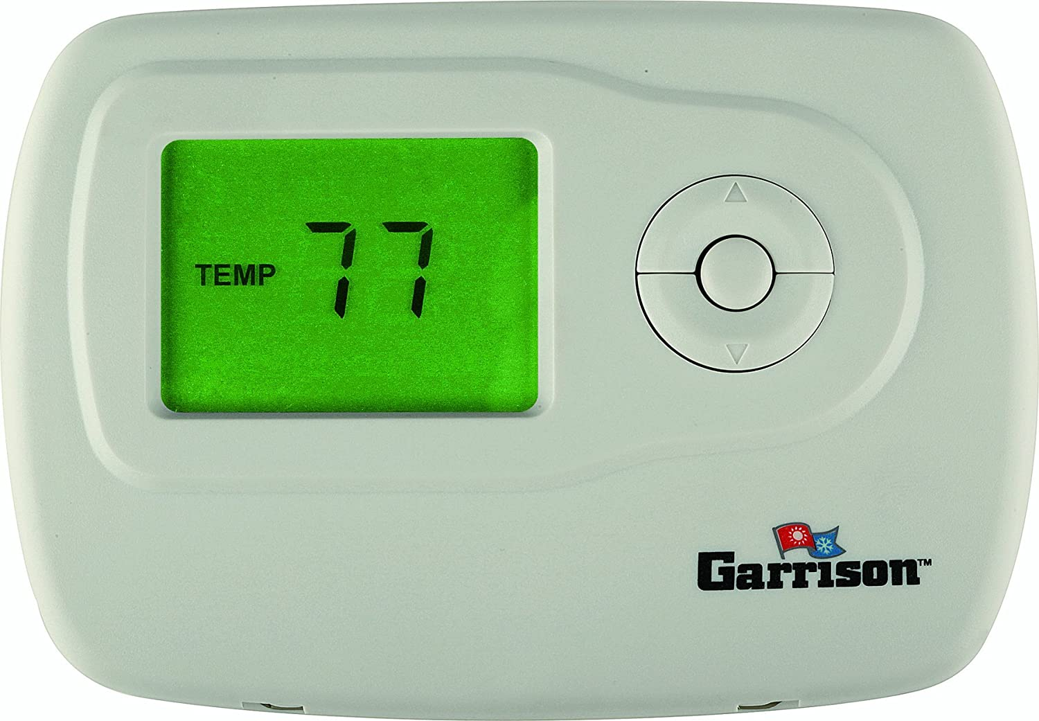 GARRISON 755397 1 Stage Heat/Cool Non-Programmable Digital Thermostat -  Ceiling Fan Replacement Blades - Amazon.com
