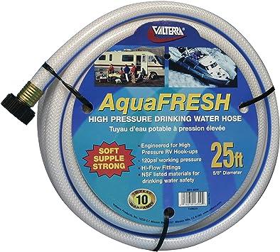 """RV High Pressure Drinking Water Hose by Valterra 1//2/"""" x 25 ft."""