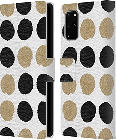 Official Charlotte Winter Night Sky Black /& White Leather Book Wallet Case Cover Compatible For Samsung Galaxy A21s 2020