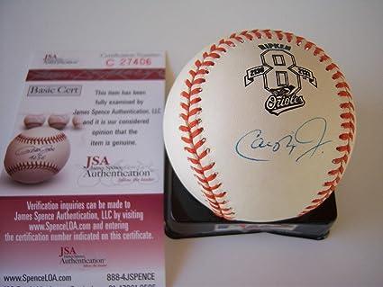 3edbc541893 Cal Ripken Jr. Signed Ball - iron Man hof coa - JSA Certified ...