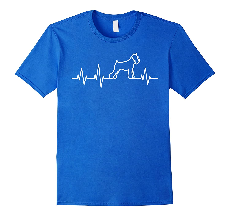 Schnauzer Heartbeat Shirt Miniature Schnauzer T-Shirt Gift-TH