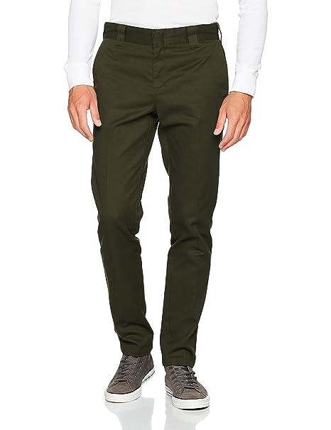 Slim Fit Work Pant, Pantalones para Hombre, Beige (Khaki KH), (Tamaño del fabricante:31/32) Dickies