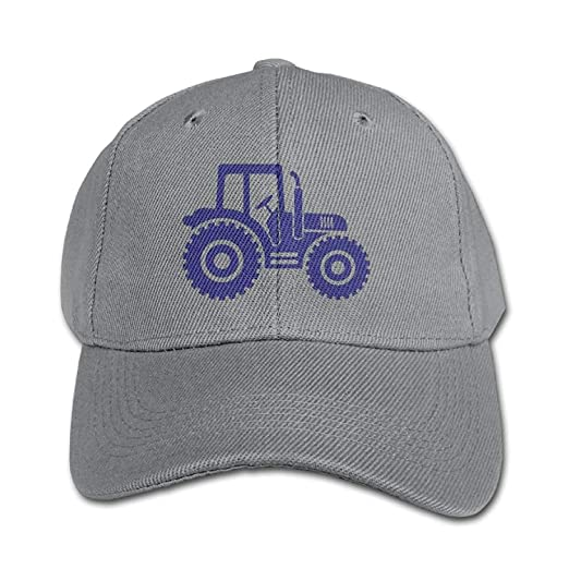 7ad41fbd218 HUREA Personalized Country Farm Blue Tractor Kids Peaked Boys Girls ...