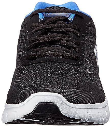 d6402578c161 Skechers Men s Black Royal Running Shoes-10 UK India (45 EU)(11 US) (999726  BKRY)  Buy Online at Low Prices in India - Amazon.in