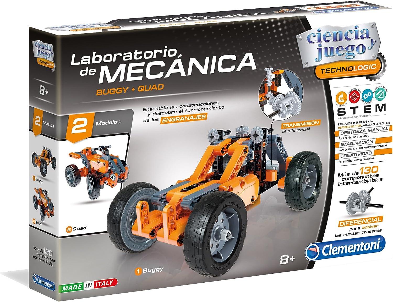 Clementoni- Laboratorio de mecánica, Buggy y Quad, Miscelanea (55159.0)