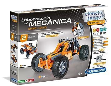 Clementoni Laboratorio de mecánica, Buggy y Quad, Miscelanea (55159.0): Amazon.es: Juguetes y juegos