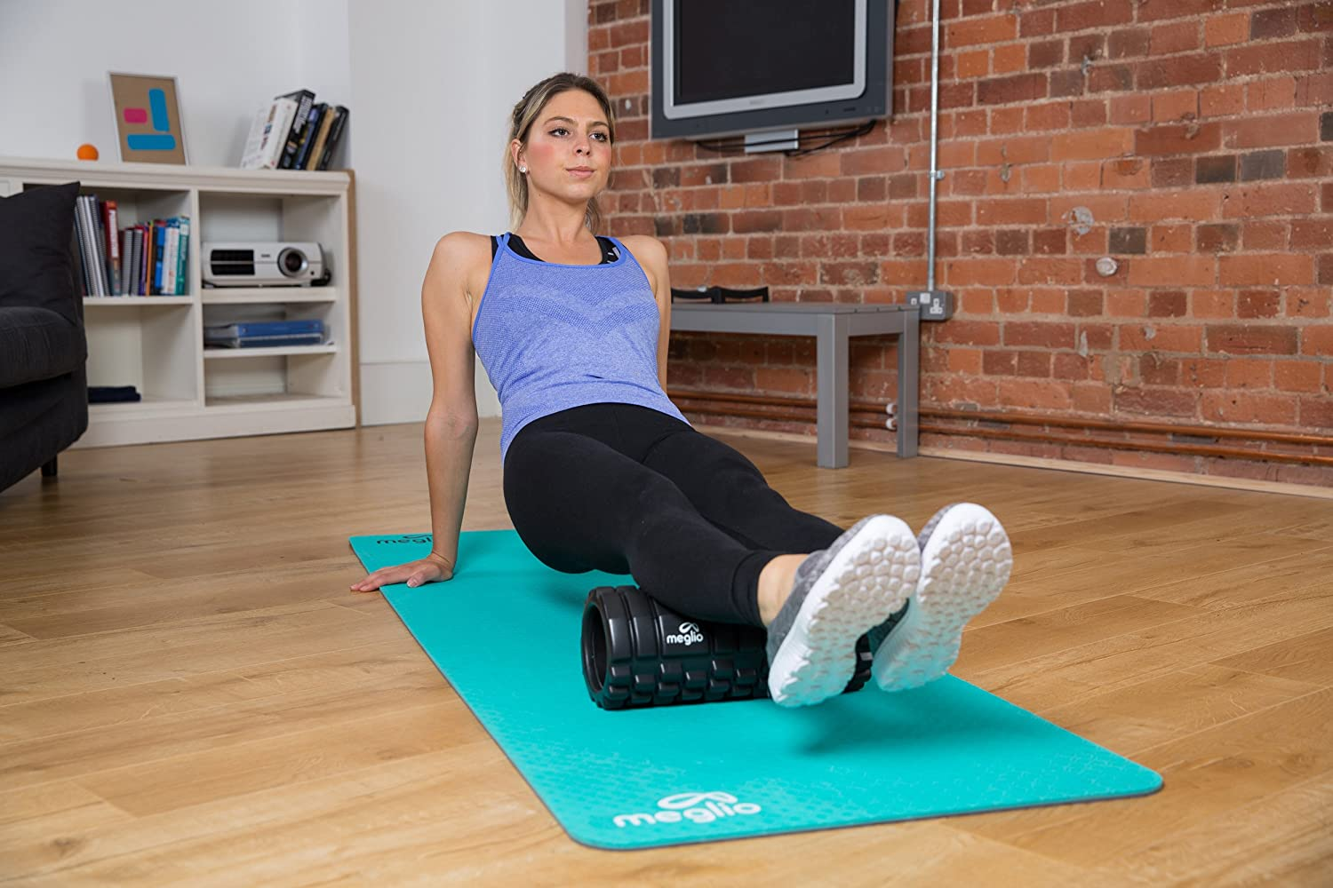 Rehabilitation Yoga /& Pilates Muscle Ideal for Deep Tissue Massage and Myofascial Release Grid Foam Roller for Muscle Massage Includes Exercise Guide Perfect for Fitness