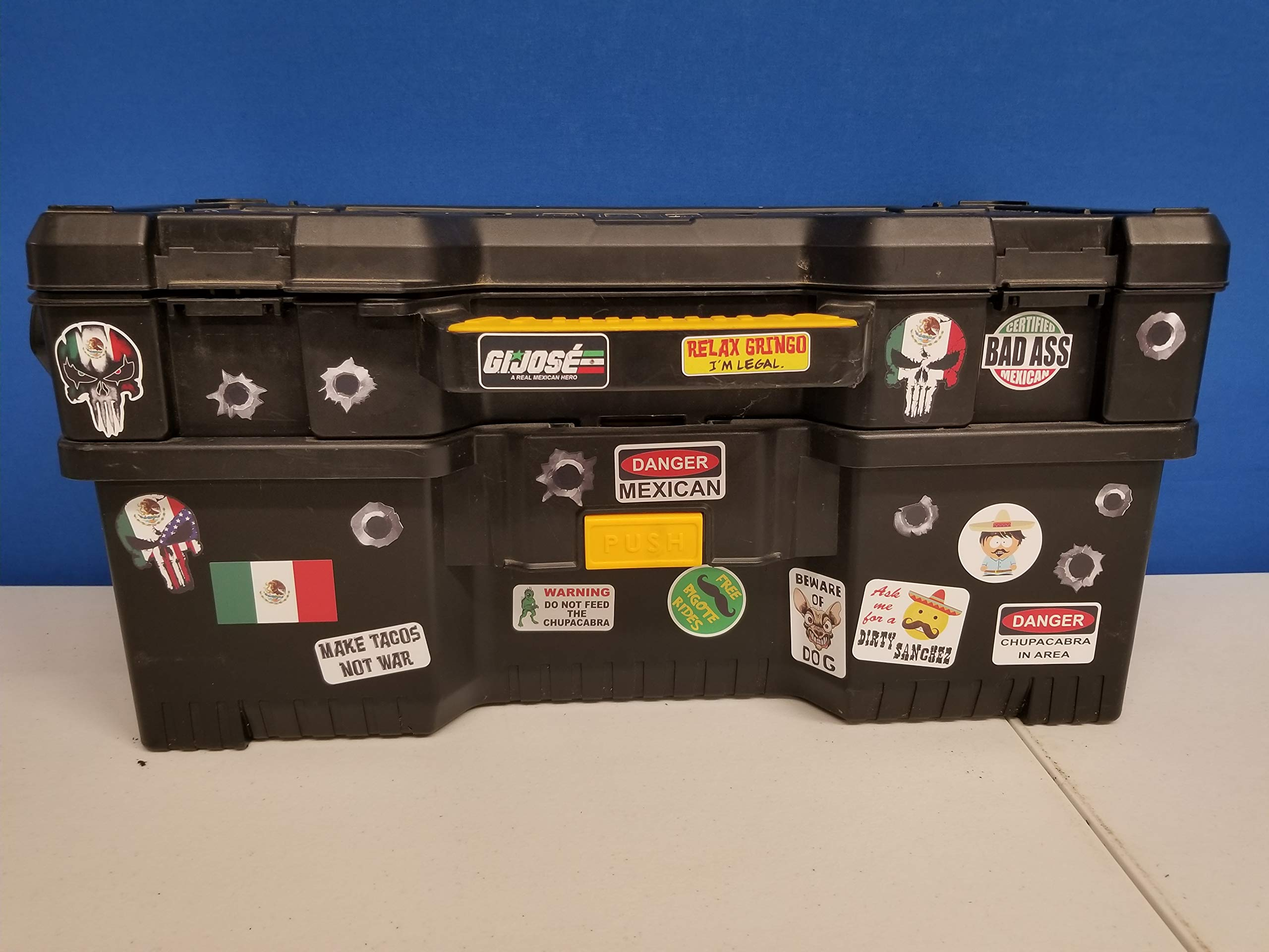 56 pack of Mexican American Edition Crude Humor Hilarious Hard Hat Prank Decal Joke Sticker Funny Laugh Construction LOL by Decals by Haley (Image #7)