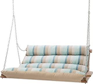product image for Hatteras Hammocks Deluxe Sunbrella Cushioned Double Swing - Gateway Mist