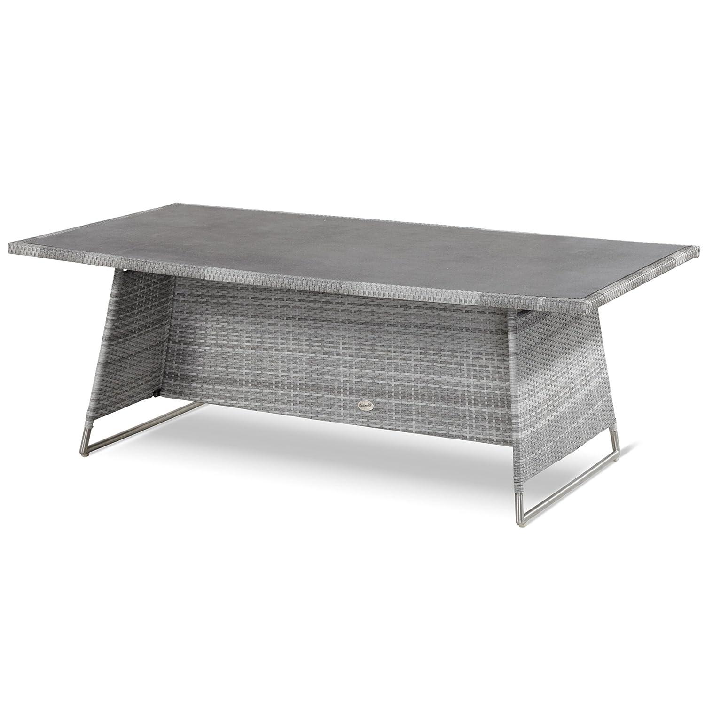 Hartman Montego Tisch 160 x 90 cm Polyrattan royal grey flat 22612099