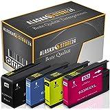 4X Druckerpatronen Komp. für hp 932xl 933xl 932 XL 933 XL mit HP Officejet