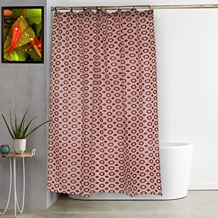 Image Unavailable Not Available For Color Kuber Industries PVC Shower Curtain 7 Feet