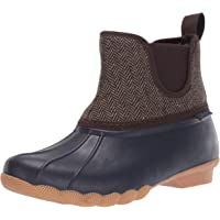 Skechers Women's Pond-Mid Herringbone Chelsea Duck Boot with Waterproof Outsole Rain