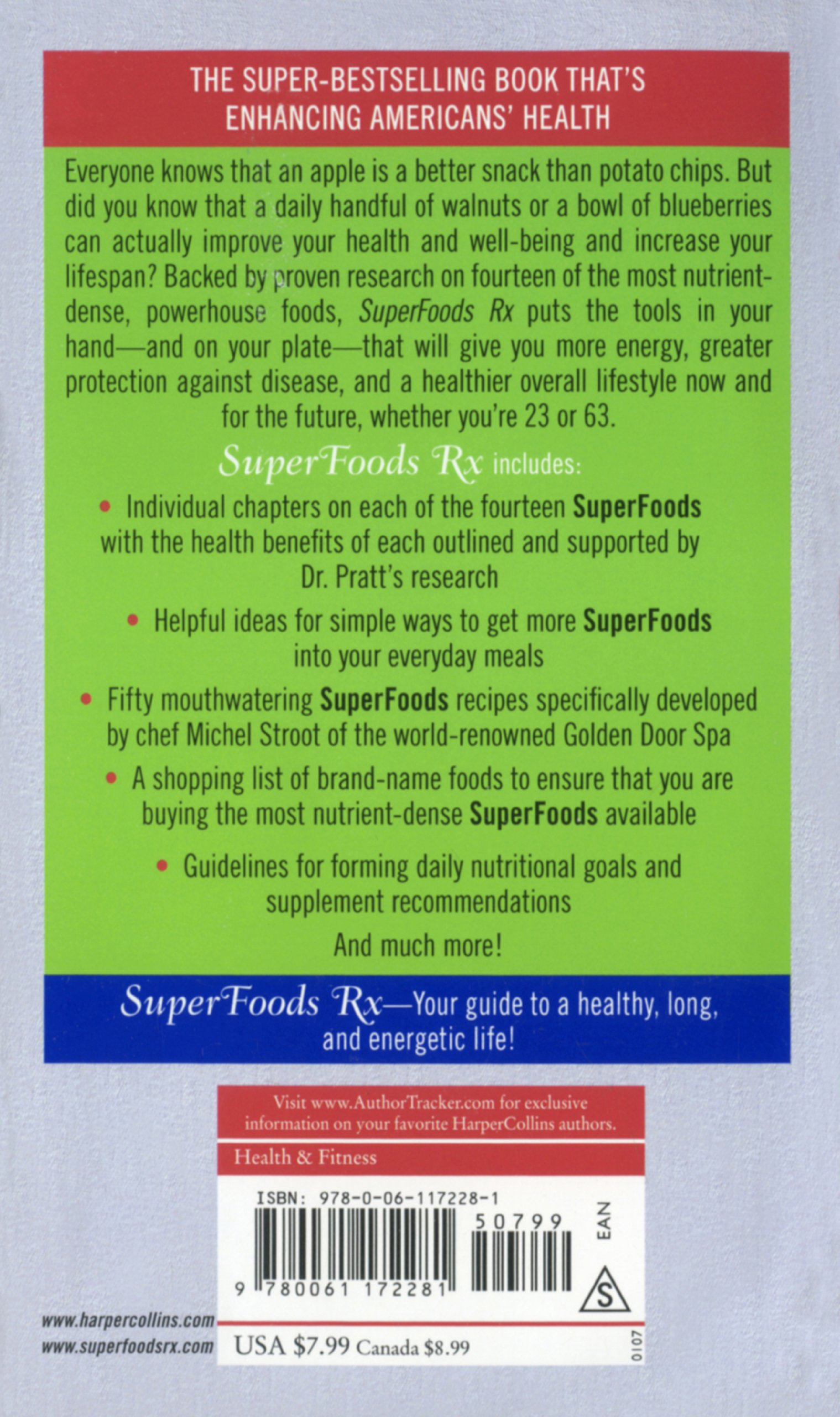 Superfoods Rx: Fourteen Foods That Will Change Your Life: Steven G, Md Pratt
