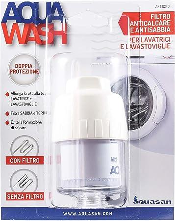 Aquasan 0240 - Filtro para lavadora y lavavajillas, antical y ...