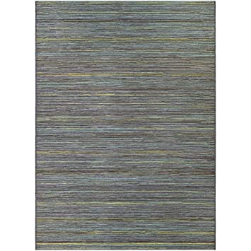 Amazon Com Dream Decor Rugs Vector Loft Blue Indoor Outdoor Area