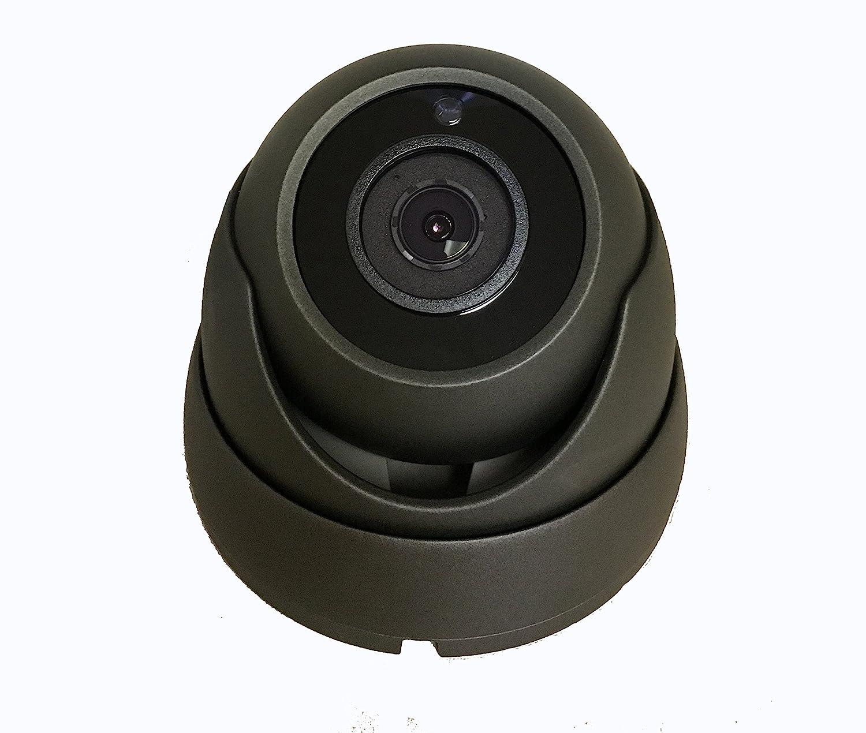 101AV Security Dome Camera 1080P 1920×1080 True Full-HD 4in1 TVI, AHD, CVI, CVBS 3.6mm Fixed Lens 2.4 Megapixel STARVIS Image Sensor in Outdoor Smart IR DWDR Surveillance Home Office Charcoal
