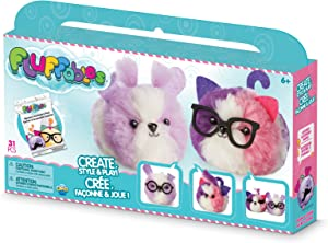ORB The Factory Fluffables Sugar Cookie Double Arts & Crafts, Purple/White/Pink, 11.75
