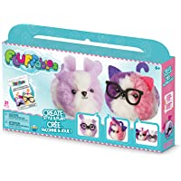 """Orb The Factory Fluffables Sugar Cookie Double Arts & Crafts, Purple/White/Pink, 11.75"""" x 2"""" x 6"""""""