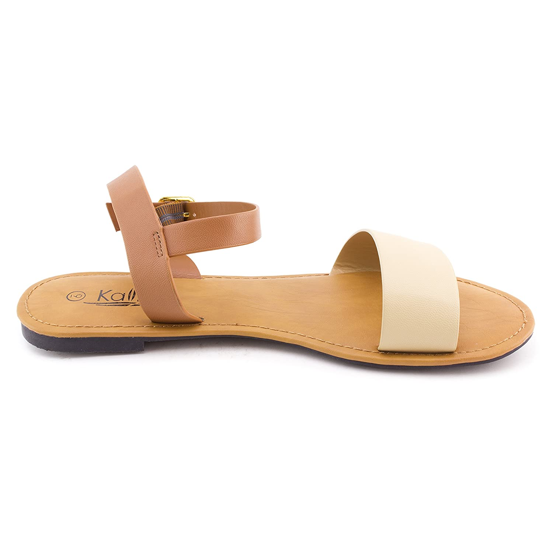 Kali Womens Gladiator Ankle Strap Single Band Sandals