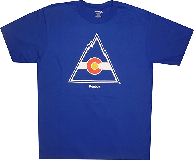new concept 9f442 2f97b Amazon.com: Reebok Colorado Rockies Hockey Throwback Vintage ...