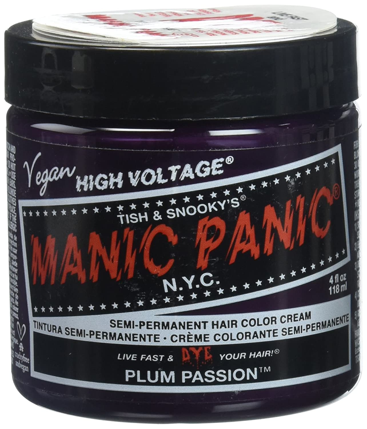 Manic Panic Vampire Red Hair Dye 4 oz Getting Fit 612600110326