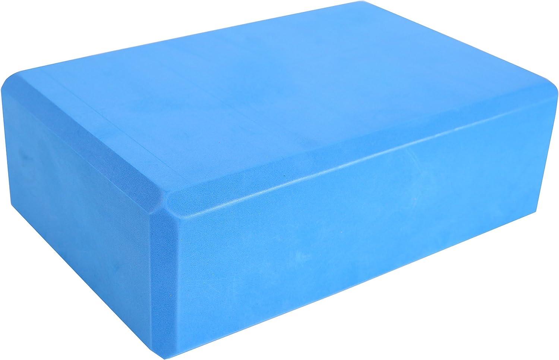 Exerz EXYB-002 High Density Yoga Blocks 2PK C/ómodo Fitness Foam Bricks Antideslizante Ligero y f/ácil de Usar