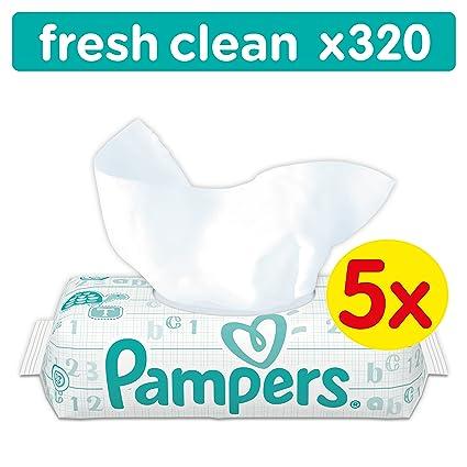 Pampers Fresh Clean 4015400623892 64pieza(s) toallita húmeda para bebé - Toallitas húmedas para